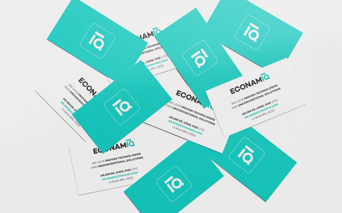 ECONAMIQ business cards