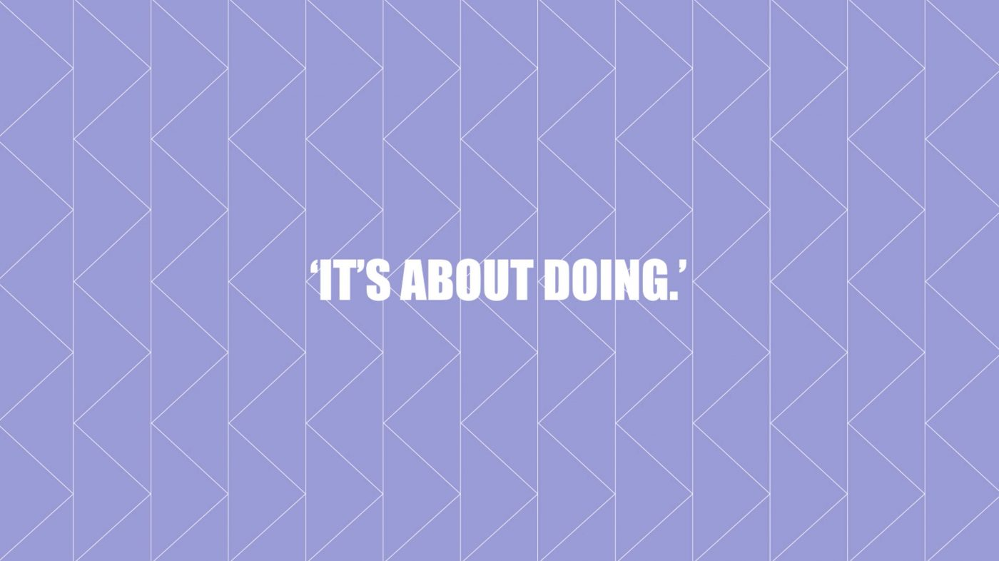 It's about doing - Thomas Kolster Sander Veenendaal